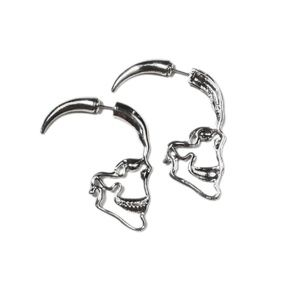 cd9b93236 Jewelry - Skull Profile Earrings (Pair)
